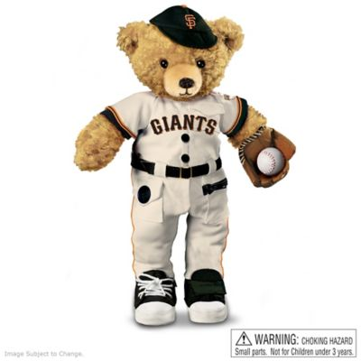 Interactive San Francisco Giants Coaching Teddy Bear by
