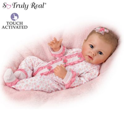 Katie Baby Doll Breathes, Coos And Has A Heartbeat by
