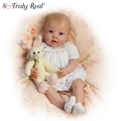 Doll: Bunny Hugs So Truly Real Country Inspired Baby Doll
