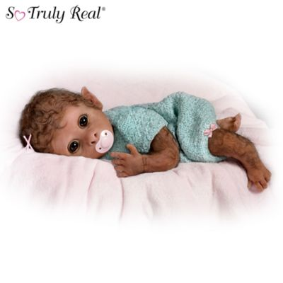 Clementine So Truly Real Lifelike Baby Monkey Doll By ...