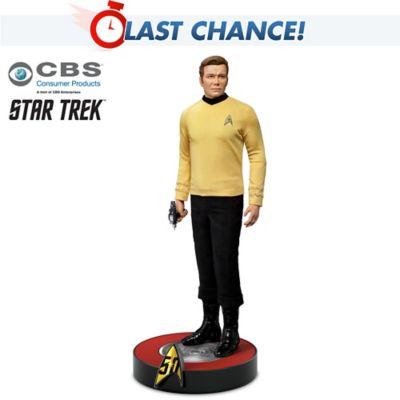 Captain Kirk STAR TREK 50th Anniversary Figure by