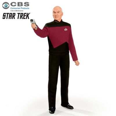 STAR TREK Captain Picard 30th Anniversary Talking Figure by