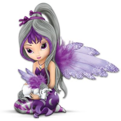 Jasmine Becket-Griffith Fairy And Unicorn Figurine by