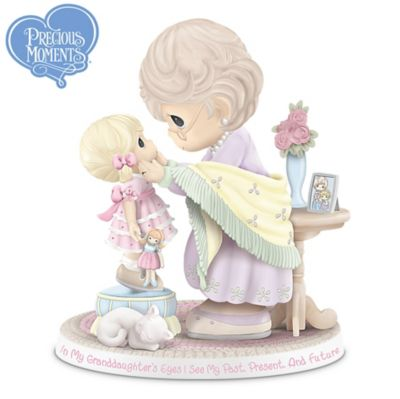 Precious Moments Figurine Honoring A Grandmother's Legacy by