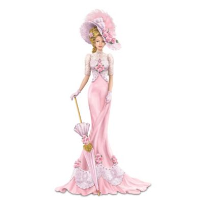 Dona Gelsinger Breast Cancer Awareness Lady Figurine by