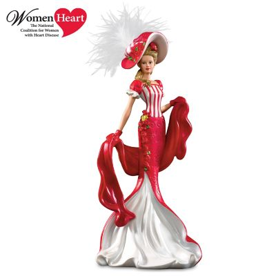 Dona Gelsinger Victorian Lady Figurine Supports Heart Health by