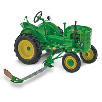 1:16-Scale John Deere L Diecast Tractor With Sickle Mower by