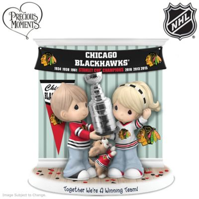Blackhawks® Stanley Cup® Precious Moments Figurine by