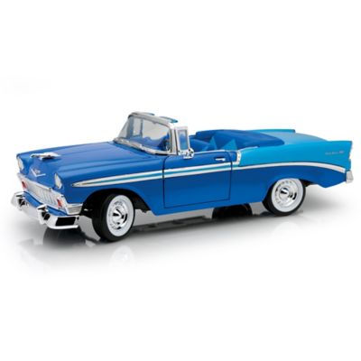 1:18-Scale 60th Anniversary 1956 Chevy Bel Air Diecast Car by