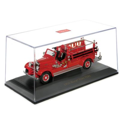 1935 Mack Type 75BX Fire Engine Diecast Truck With Case by