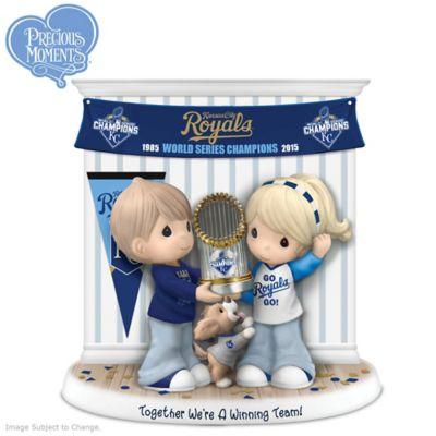 Kansas City Royals World Series Precious Moments Figurine by