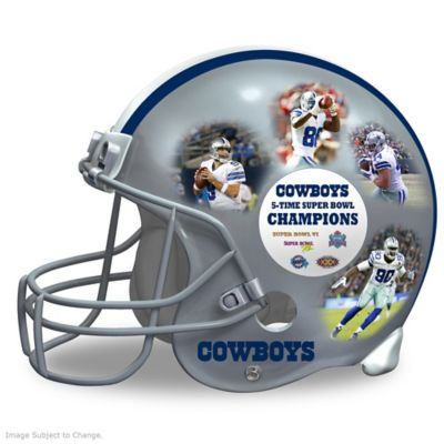 Dallas Cowboys Full-Size Collectible Helmet Sculpture by