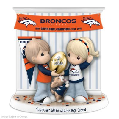 Denver Broncos Super Bowl 50 Precious Moments Figurine by