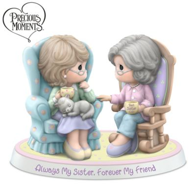 Precious Moments Always My Sister Forever My Friend Figurine by