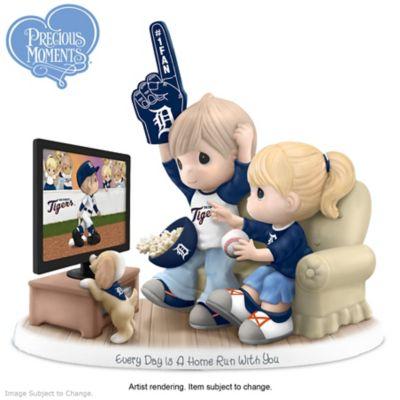 Precious Moments Detroit Tigers Fan Porcelain Figurine by