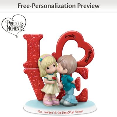 Precious Moments Personalized Figurine Honors Forever Love by
