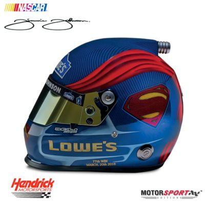 Jimmie Johnson #48 Superman NASCAR® Racing Helmet by