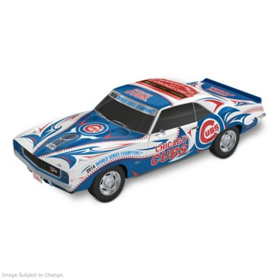 Chicago Cubs World Series 1:18 Scale Camaro Sculpture by