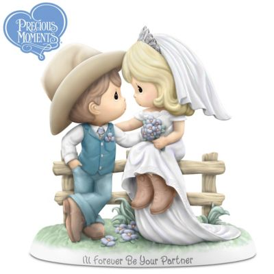 Precious Moments Country Wedding Porcelain Figurine by