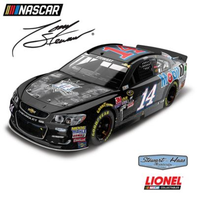 1:24-Scale Tony Stewart No. 14 Last Ride/Mobil 1 Diecast Car by