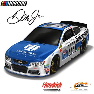 Dale Earnhardt Jr. 2017 #88 Nationwide Chevy SS Sculpture by