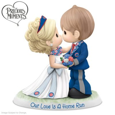Precious Moments Cubs Porcelain Wedding Figurine by