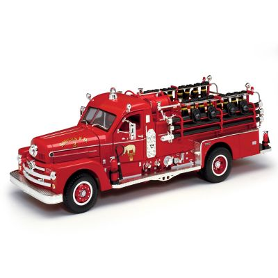 1:24-Scale Seagrave Model 750 1958 Fire Engine Diecast Truck by