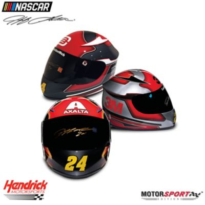 Jeff Gordon Hand-Autographed Racing Helmet: Choose From 5 by