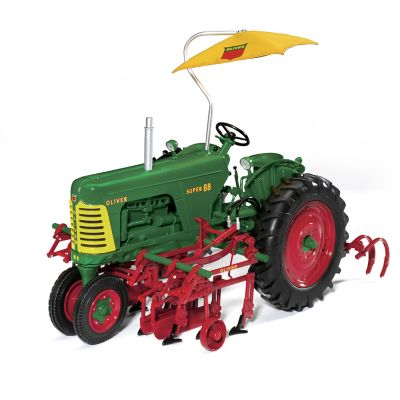 1:16-Scale Oliver Super 88 2-Row Cultivator Diecast Tractor by