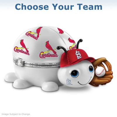Choose Your MLB Team: Love Bug Porcelain Music Box by