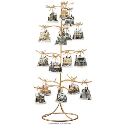 The Golden Tree 37-Position Ornament Display Stand by