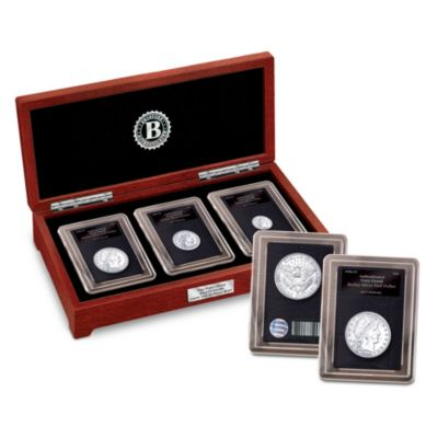 Complete Set Of The First Ever Denver Mint Silver Coins by