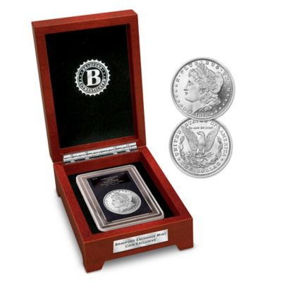 Rare 1878 Eight Tail Feather Error Morgan Silver Dollar Coin by