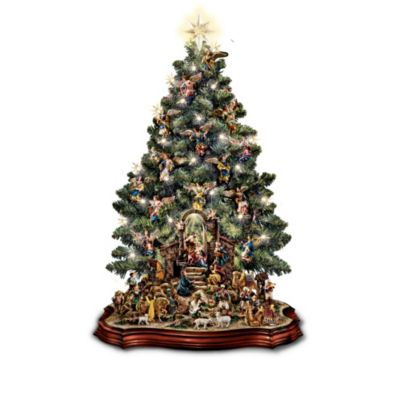 Nativity Scene Tabletop Christmas Tree Collection by