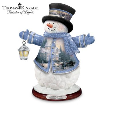 Thomas Kinkade Heirloom Classics Snowman Figurine Collection by