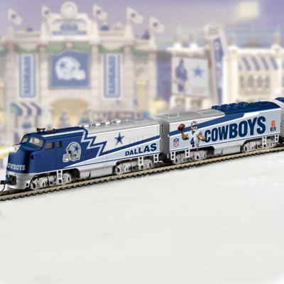 """Click here to buy """"Dallas Cowboys Express"""" Train Collection."""