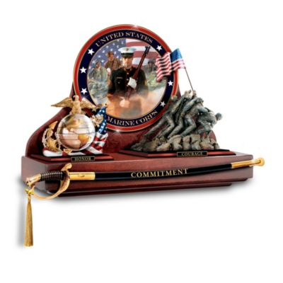 Heroes Of The USMC Commemorative Showcase Collection by