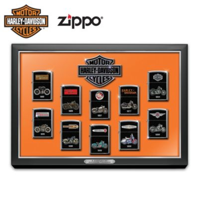 Lighters: A Century Of American Thunder Zippo Lighter Collection
