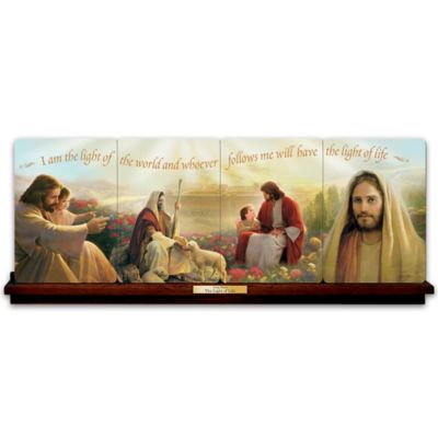 Greg Olsen Jesus Christ Porcelain Panorama Collection by