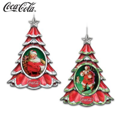 COCA-COLA Holiday Traditions Illuminated Ornament Collection by