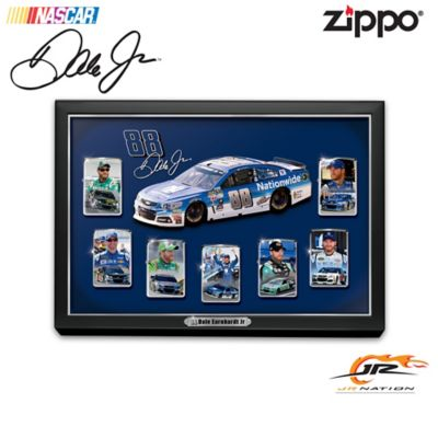 Dale Earnhardt Jr. Zippo® Lighters With Custom Display by
