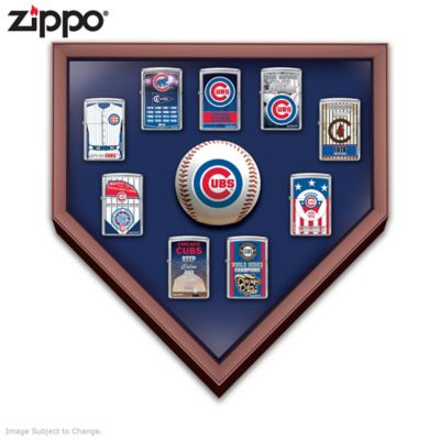 Chicago Cubs™ Zippo® Lighters With Display by