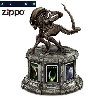 Alien® Zippo® Collection With Illuminated Display by