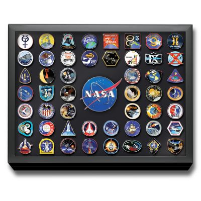 NASA Manned Space Missions Commemorative Pin Collection by