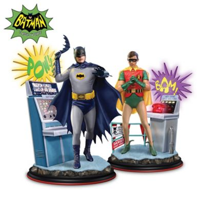 Batman Classic TV Series Illuminated Figurine Collection by