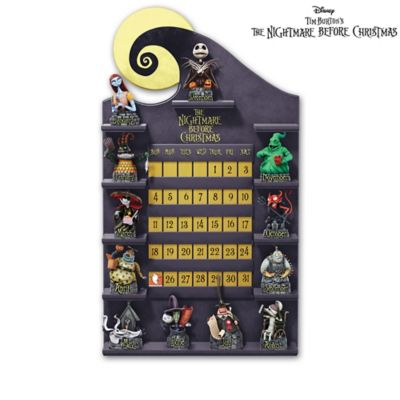 The Nightmare Before Christmas Perpetual Calendar Collection by