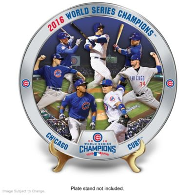 Chicago Cubs World Series Commemorative Plate Collection by