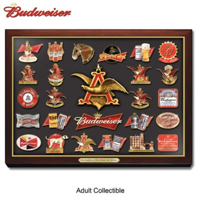 Budweiser The King Of Beer Pin Collection by