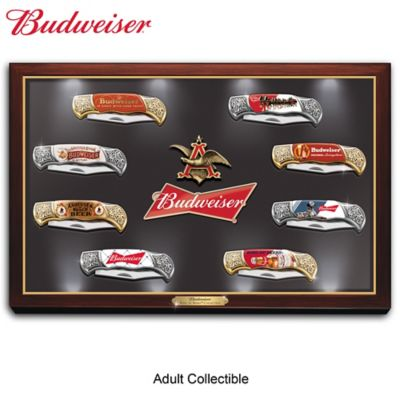 Budweiser: The King Of Beers Knife Collection by