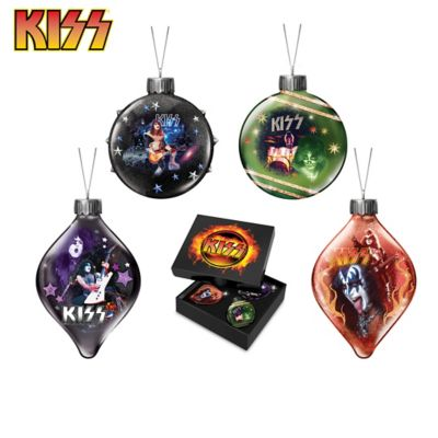 KISS Luminary Glass Ornament Collection by